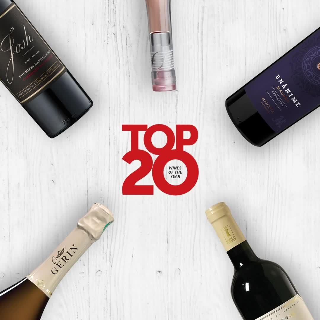 Top 20 Wines Of 2020 15 11 Video In 2020 Wines Wine Top Bottle