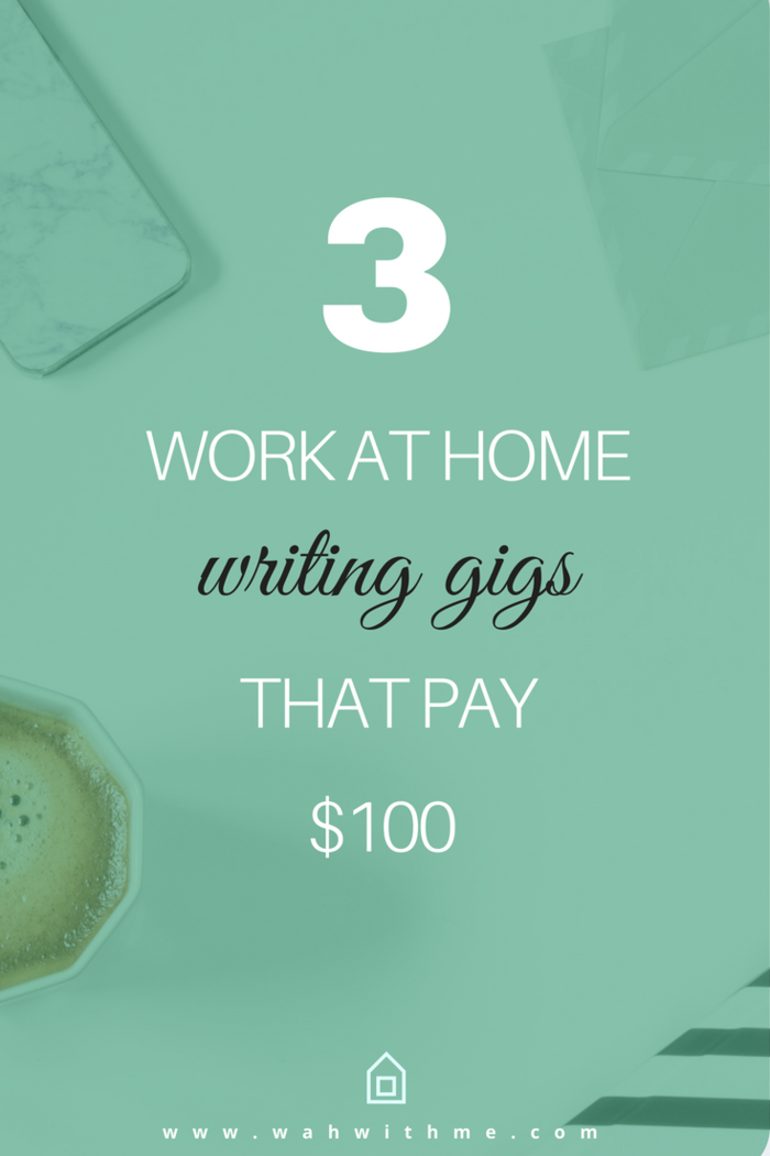 3 Remote Writing Gigs That Pay 100 Per Article Easy Online Jobs Writing Jobs Freelance Writing Jobs