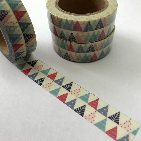 DIY Masking Tape Diary Decorative Crafts Tape Colored Painters Tape 6T