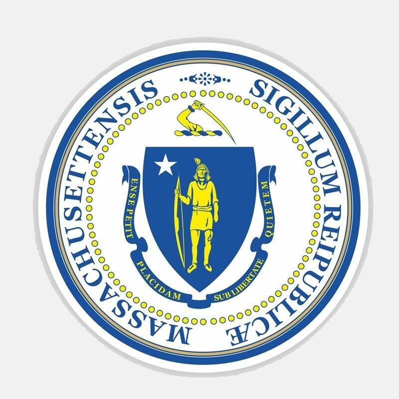 Massachusetts sigillum reipublicae sticker 200519