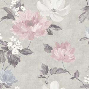 Best Renoir Blush Grey Wallpaper Coral Wallpaper Floral 640 x 480