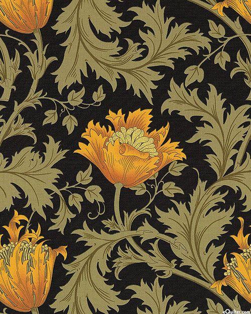 Best Of William Morris By Barbara Brackman Quilt Fabrics