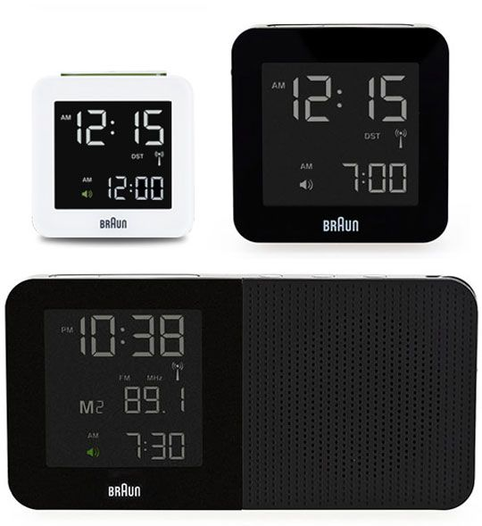Dieter Rams Braun AB1 alarm clock