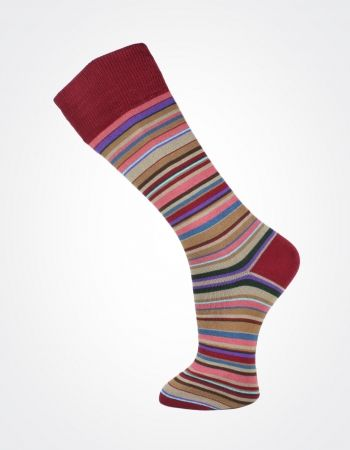 Effio X Effio Bloom of Life - Glorious no.721 #Men #Fashion #Socks #Stripes #Red