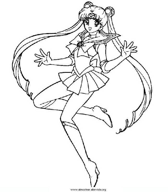 Disegni Da Colorare Sailormoon Coloring Pages Sailor Moon