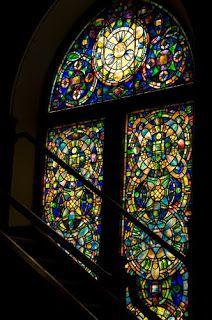Frank Thompson's Kansas Journeys: 10 Tiffany stained glass windows, First Presbyterian Church, Topeka