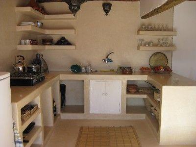 Tadelakt kitchen finca ahumada pinterest cocinas for Tadelakt cuisine