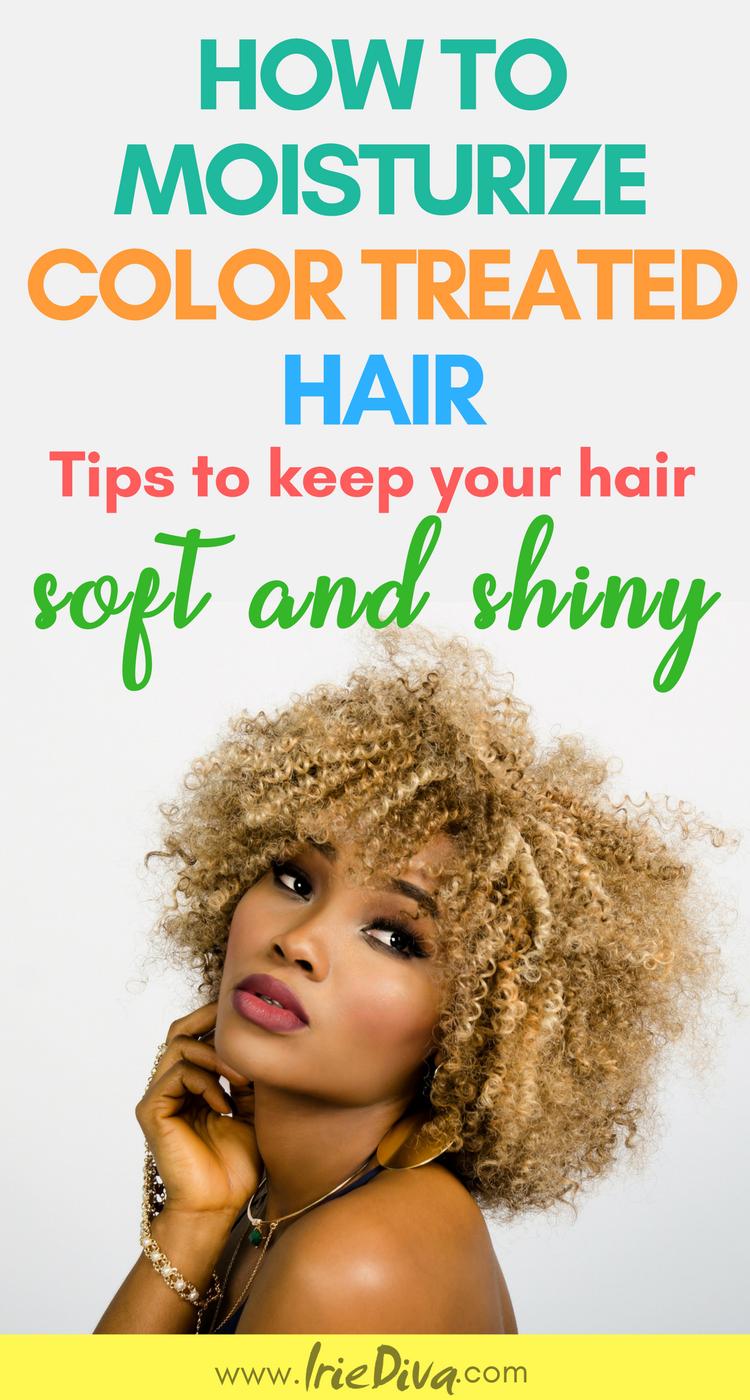 Best Hair Moisturizer Tips How to care for hair color DIY hair