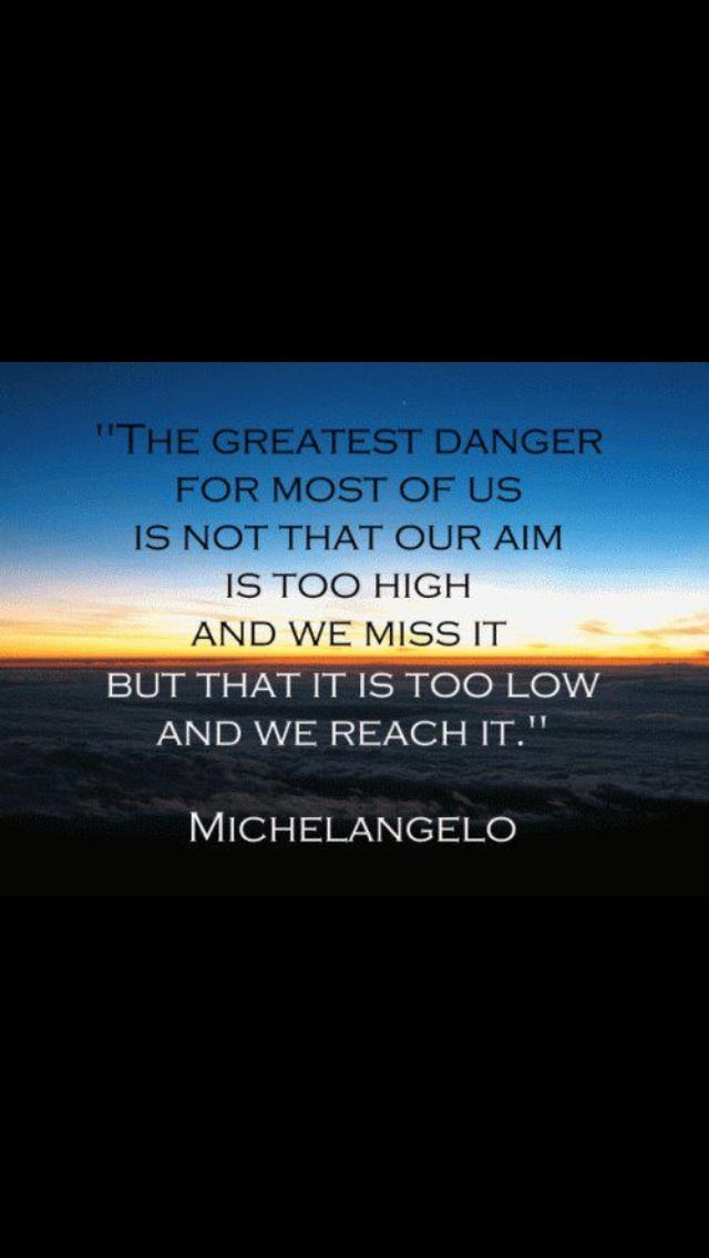 Aim high! Quotes to live by, Inspirational quotes, Sales