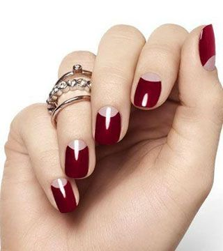 15 Holiday Nail Art Ideas from Pinterest | StyleCaster
