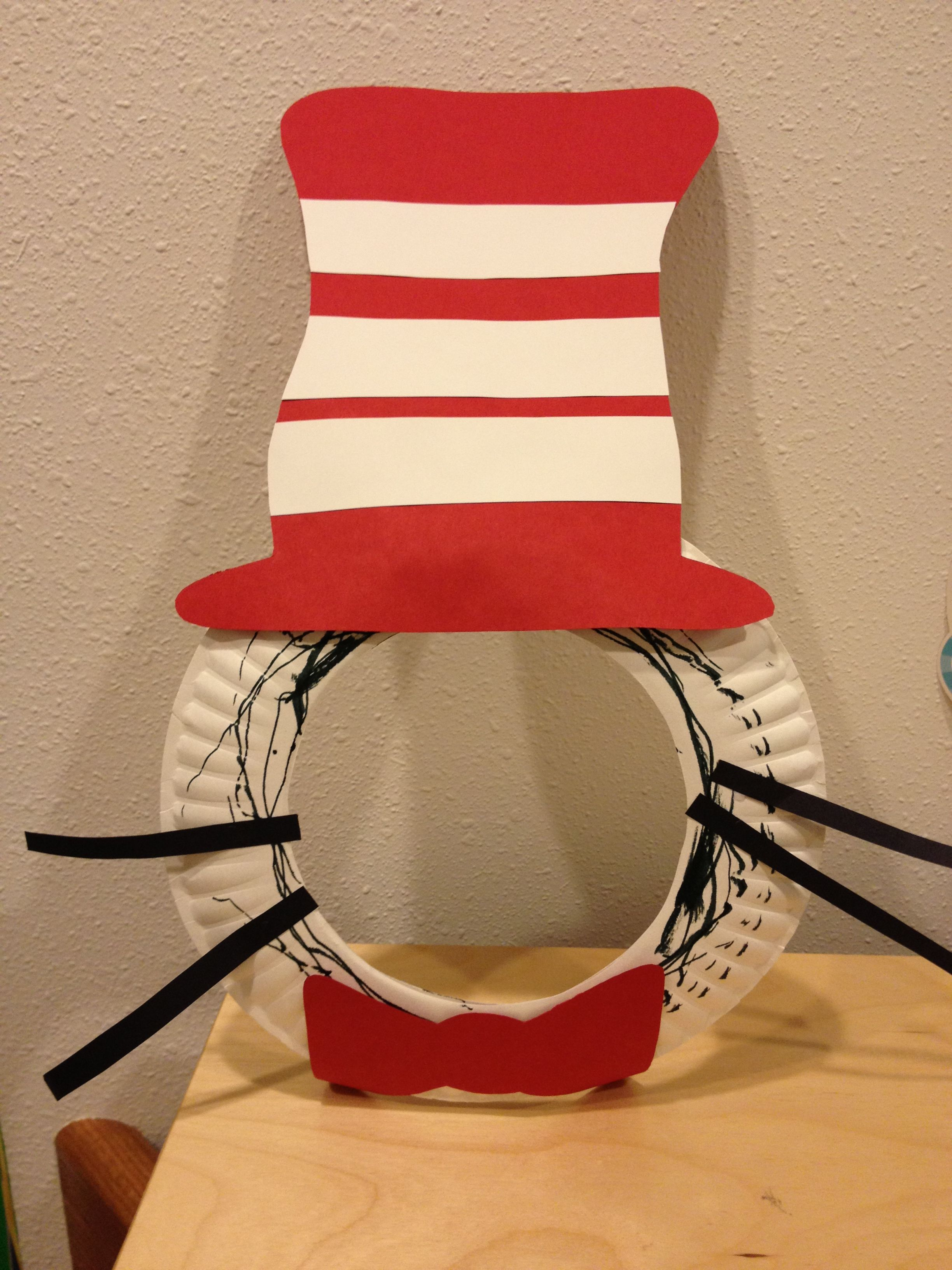 Cat In The Hat Mask