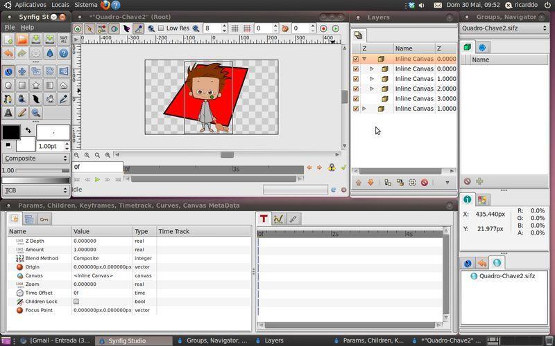 Synfig Studio Software Libre Multiplataforma De Animación 2d Digital Storytelling Software Social Media