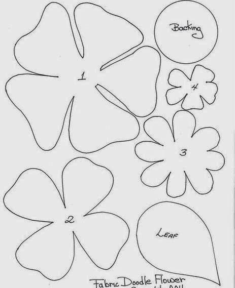 Moldes y diseos de flores en fieltro moana paper craft templates moldes y diseos de flores en fieltro paperblog giant flowerspaper flowerspaper flower patternspaper mightylinksfo