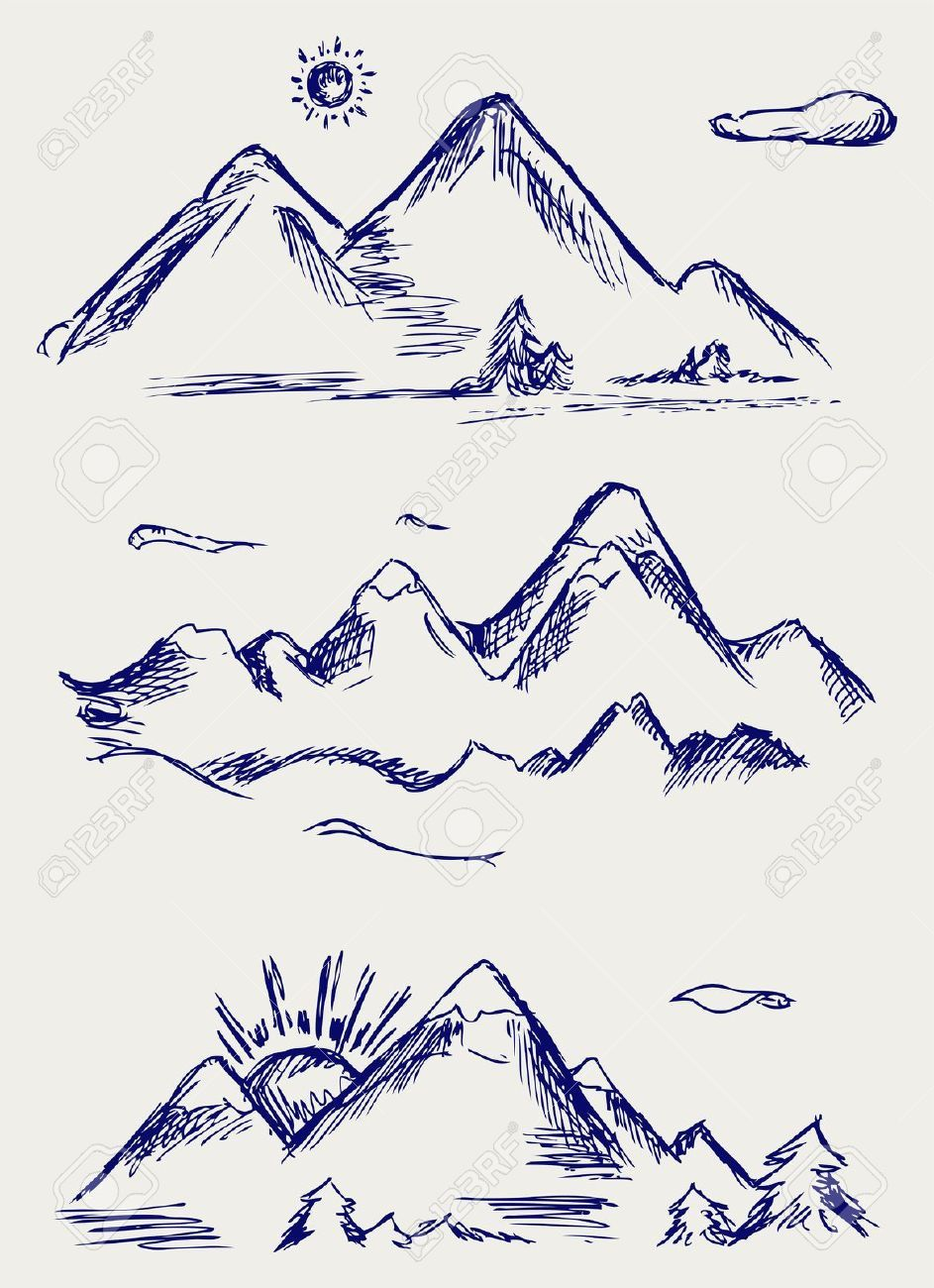 Scribble Google Drawing : Mountain doodle google search doodles pinterest