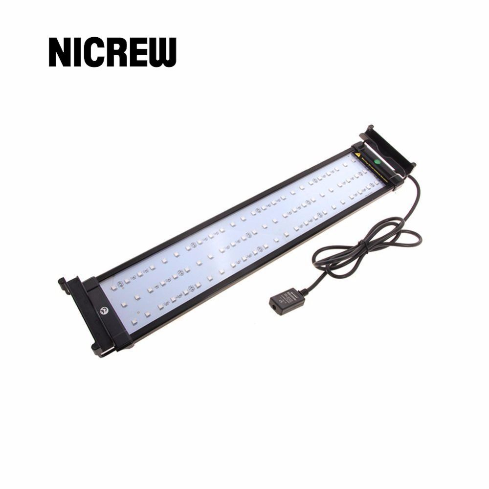 Nicrew aquarium led lighting rgb led strip light with dimmable color nicrew aquarium led lighting rgb led strip light with dimmable color changing remote control 14w fits aloadofball Image collections