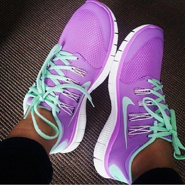 Nike Free Run 5.0 Couleur Violet Clair