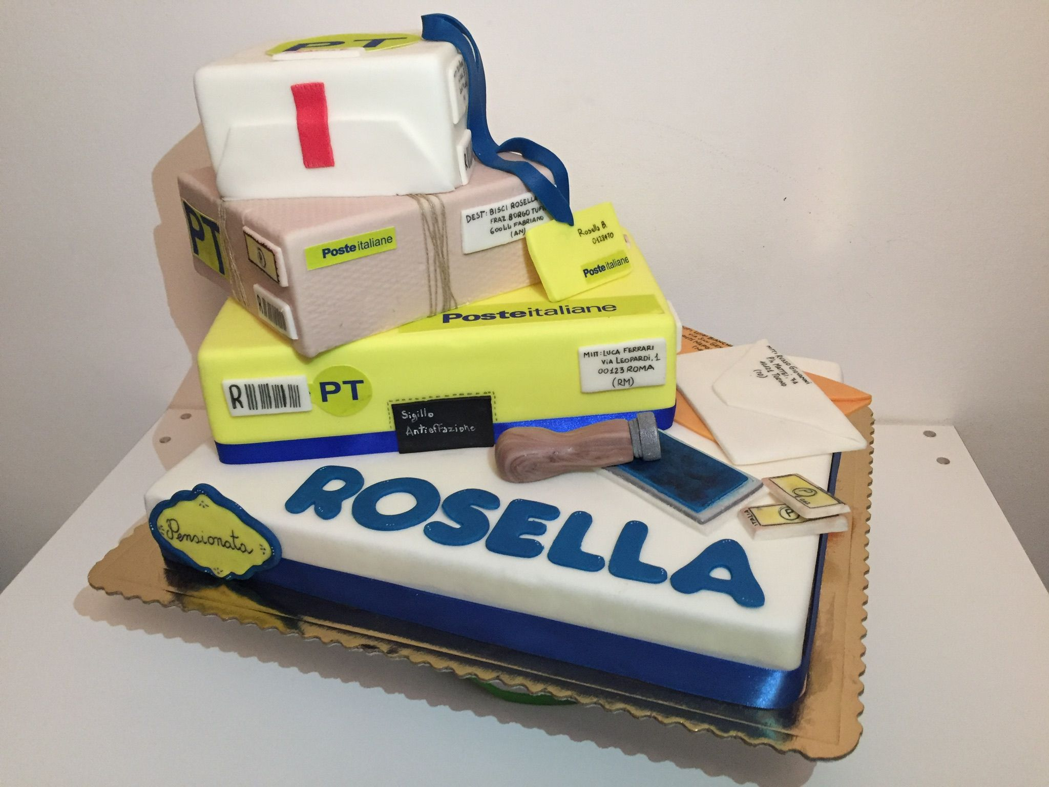 Cake poste italiane !