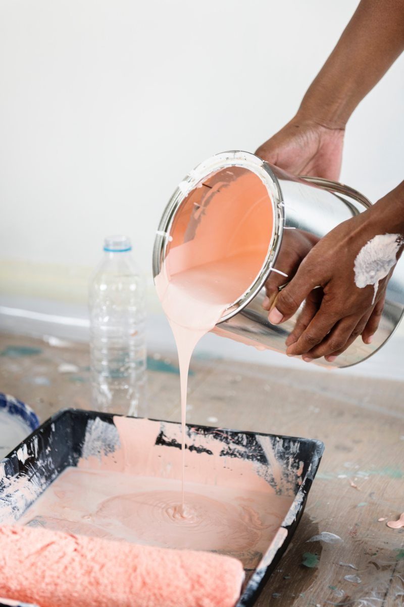 1 Way To Remove Oil Based Paint From Skin Remodeling Mobile Homes Home Remodeling Mobile Home