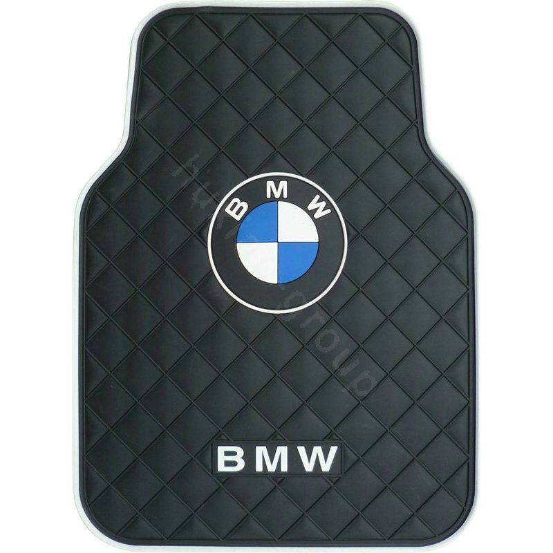132 48 Bmw Logo Universal Automobile Carpet Car Floor Mat Rubber