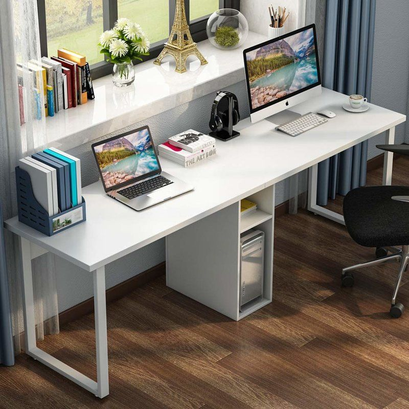 So Make Sure You Design Your Home Office Exactly How You Want From The Perfect Colors See More Ideas About Desk Desk For Two Home Desk Home Office Furniture