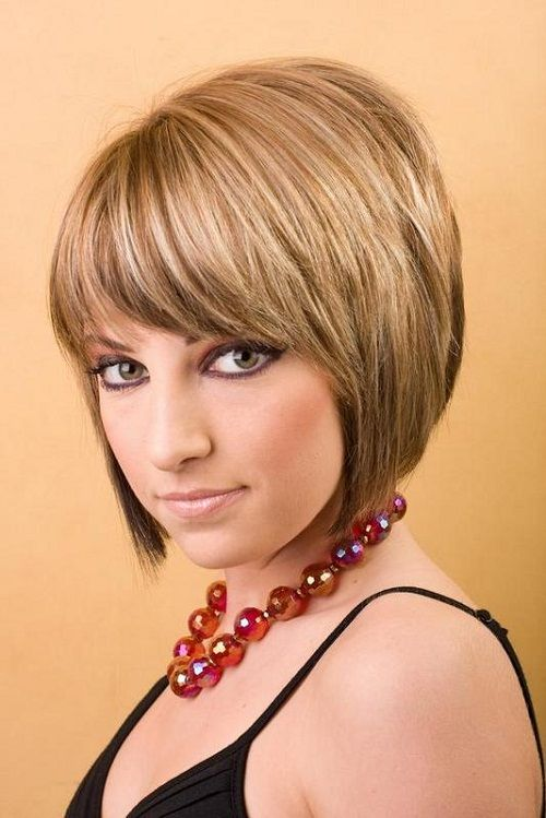 simple short hairstyles with bangs