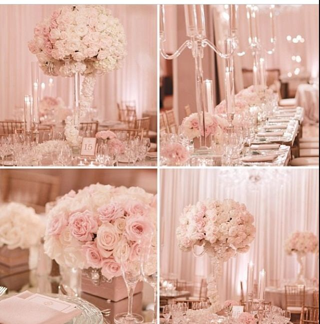Pink Wedding Centerpiece Ideas: Pink Wed. #WeddingColors #PinkWedding #WeddingIdeas (Best