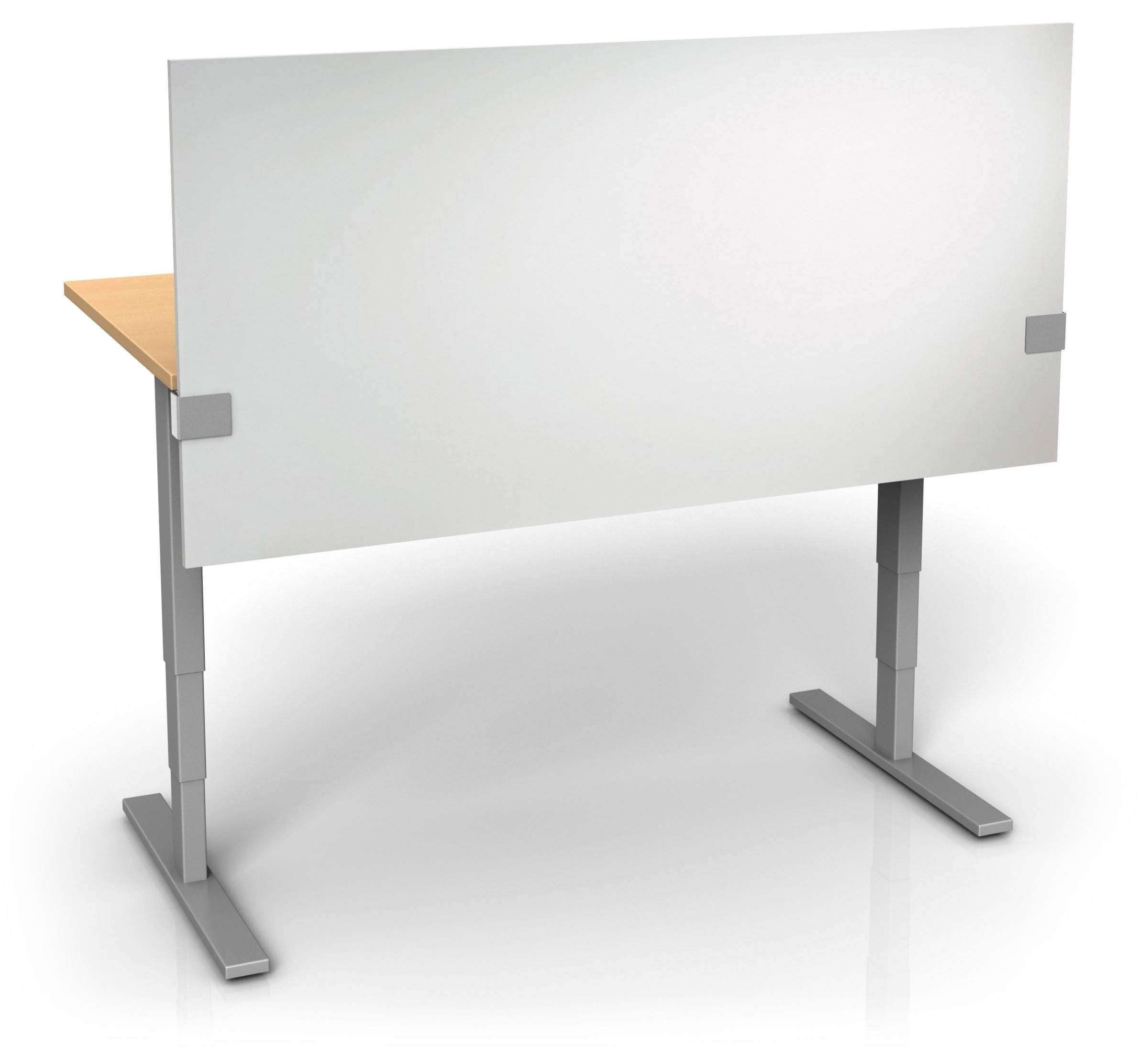 UPTOWN PANEL - WHITEBOARD HEIGHT ADJUSTABLE DESK DIVIDER - Protect ...