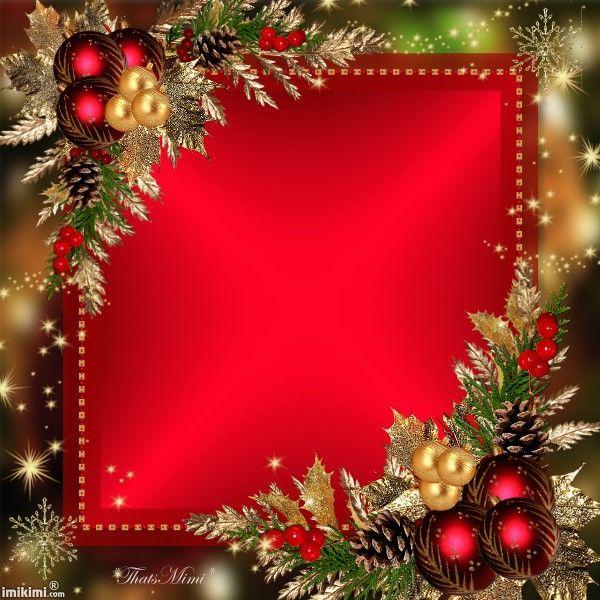 Merry Christmas! ~*~ Vintage Bilderrahmen Pinterest Merry - blank christmas templates