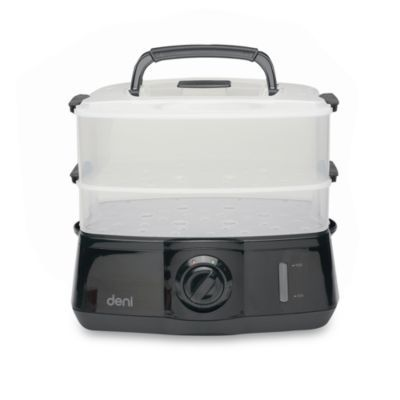 Buy Deni Two-Tier Locking Manual Steamer from Bed Bath & Beyond