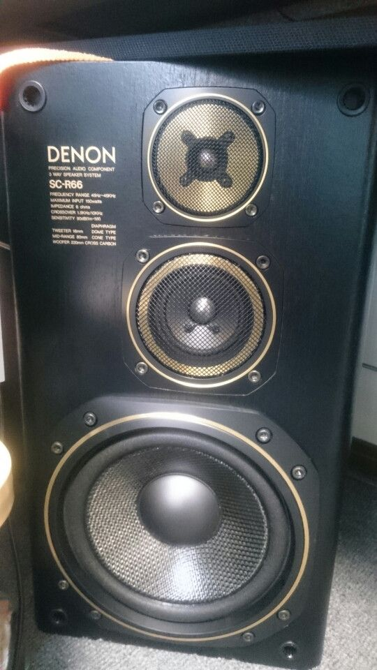 DENON SC R66 Loudspeaker Music Speakers