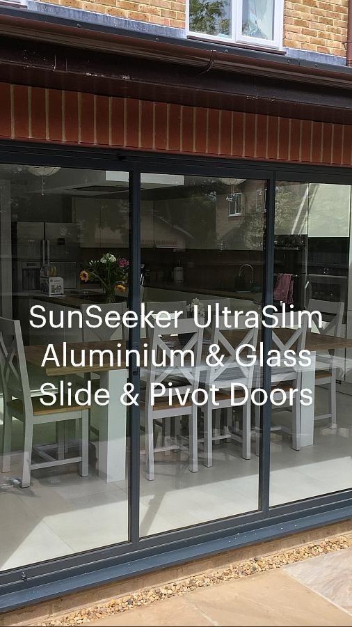 SunSeeker UltraSlim Aluminium & Glass Slide & Pivot Doors
