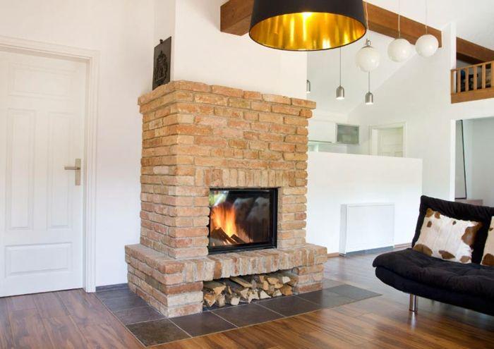 Wasserf hrender kamin eine moderne und komfortable art - Kaminofen landhaus ...