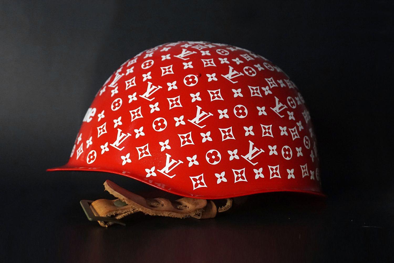 Supreme X Louis Vuitton helmet  76a60c736c54