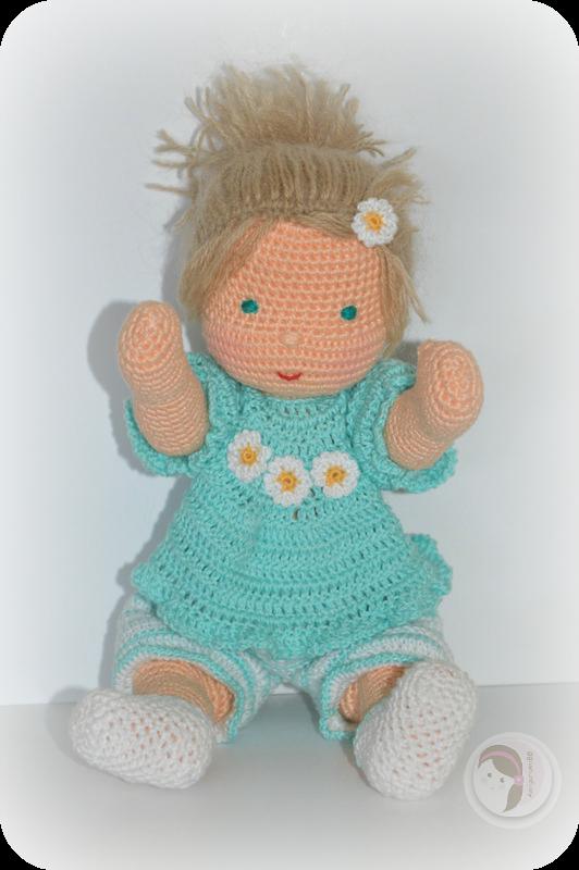 Waldorf Inspired baby by AmigurumiBB   Amigurumi Crochet oder ...
