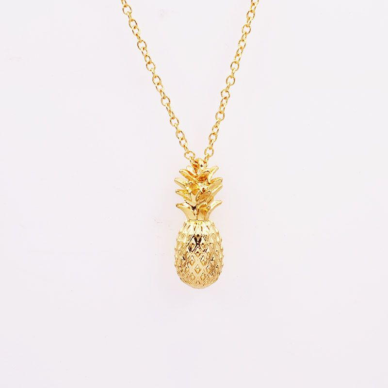 Aliexpress buy new fashion jewelry chain link pineapple aliexpress buy new fashion jewelry chain link pineapple pendant necklace for women girl mozeypictures Image collections