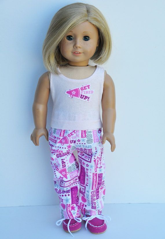 American Girl Clothes Pajamas Cheerleader by LoriLizGirlsandDolls #18inchcheerleaderclothes American Girl Clothes Pajamas Cheerleader by LoriLizGirlsandDolls #18inchcheerleaderclothes American Girl Clothes Pajamas Cheerleader by LoriLizGirlsandDolls #18inchcheerleaderclothes American Girl Clothes Pajamas Cheerleader by LoriLizGirlsandDolls #18inchcheerleaderclothes