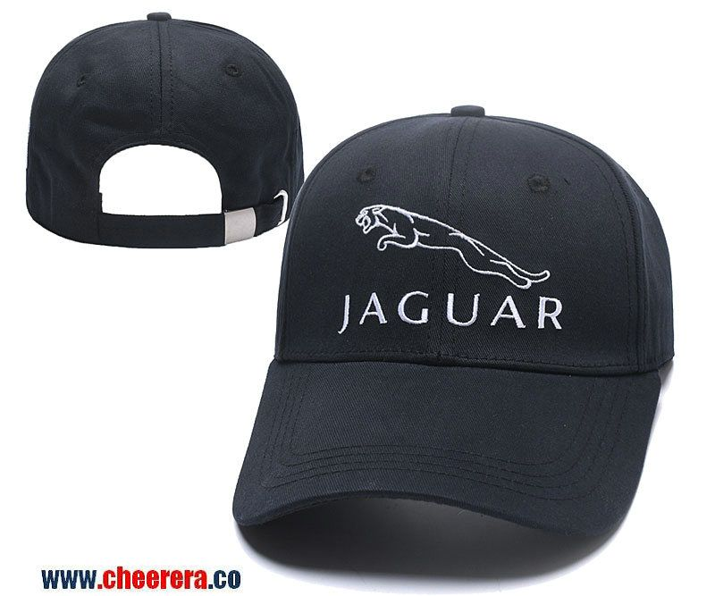 Jaguar Adjustable Snapback Hat In Black Sport Hat Hats Baseball Hats