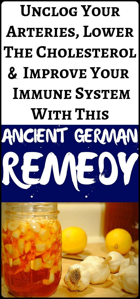 #cholesterol #arteries #improve #ancient #fitness #unclog #german #remedy #immune #system #health #l...