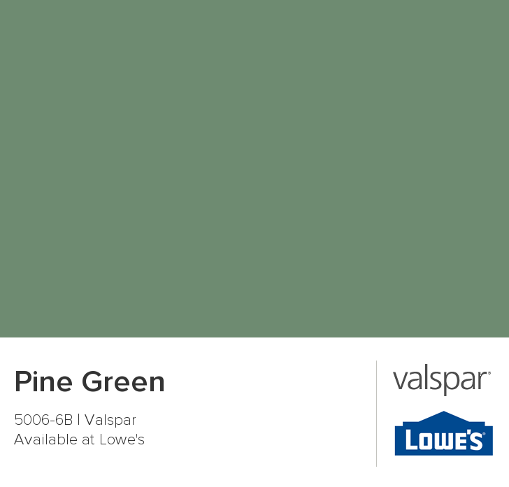 Pine Green: current bedroom color, need to find accent colors for closet remodel.. Or just repaint entirely..