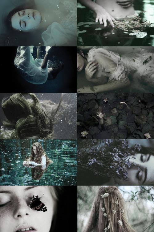 ophelia aesthetic (more here)