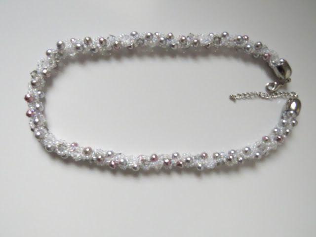 Lillyskleinehandarbeitswelt Perlenketten Häkeln Türkisch Schmuck