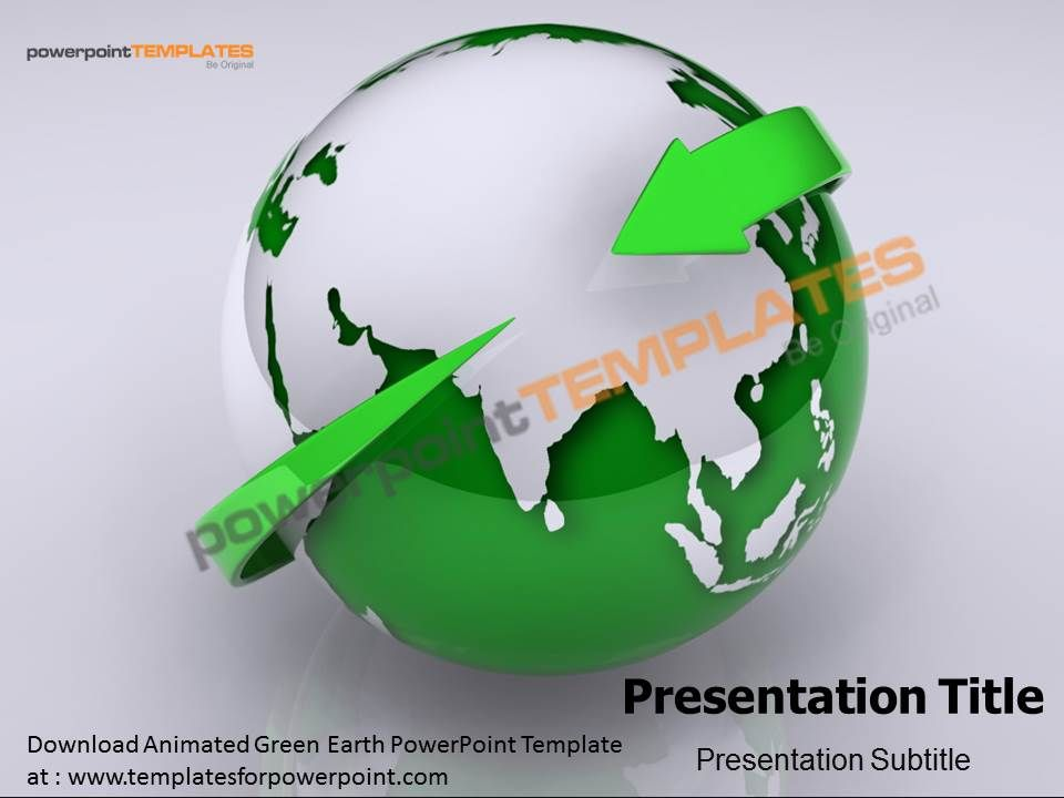 Download animated green earth powerpoint template at httpwww download animated green earth powerpoint template at httptemplatesforpowerpoint toneelgroepblik Images