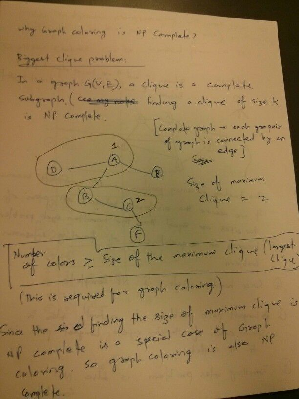 Graph Coloring Problem Is Np Complete Graphing Completed Sheet Music