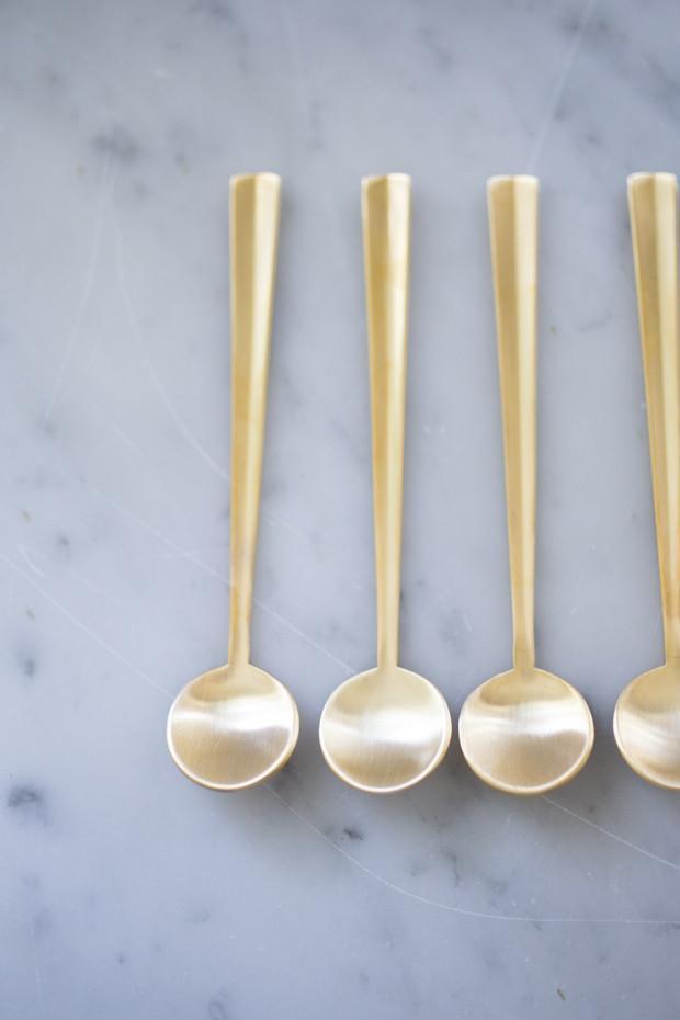 Nagasaki Gold Caviar Or Coffee Spoons