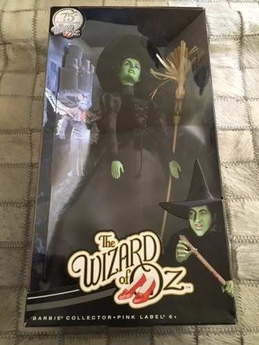barbie collector wicked witch bruxa oz 75th anniversary