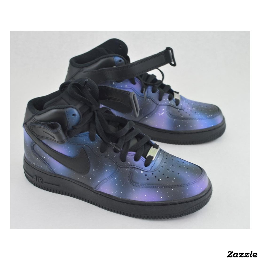 half off a718c 1f753 Hand Painted Galaxy Nike Air Force 1 ,Made for you by B Street Shoes ,Hand  Painted Color Galaxy,nike,handpainted,painted,kicks,nike air,air,running,air  ...