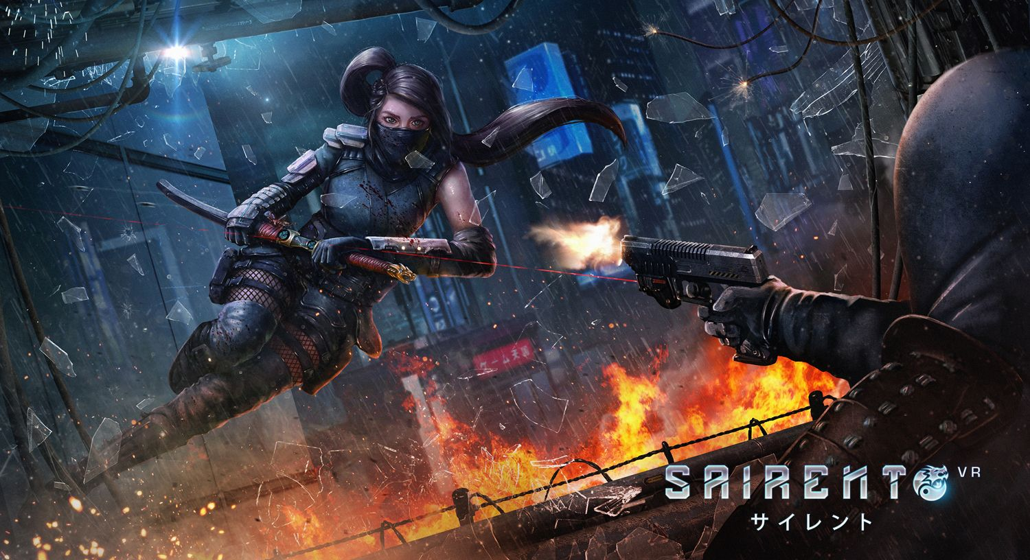 Sairento VR, Intense FPS On Steam Early Access First