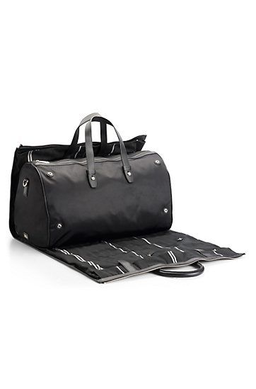 e240c5e38 Nylon and Leather 'Teodoros' Travel Bag by BOSS Black | Bags | Bags ...