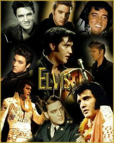 """Fantastic tribute collage of the """"Life and times"""" of Elvis Presley. The number of Elvis fans, along with album sells around the world, continue to grow in """"rapid"""" numbers as a result of being passed down from generation to generation - with no end in sight. He is, and always will be the """"King of Rock and Roll"""". The greatest entertainer of the 20th century. R.I.P. Elvis - You will """"never"""" be forgotten ♥"""