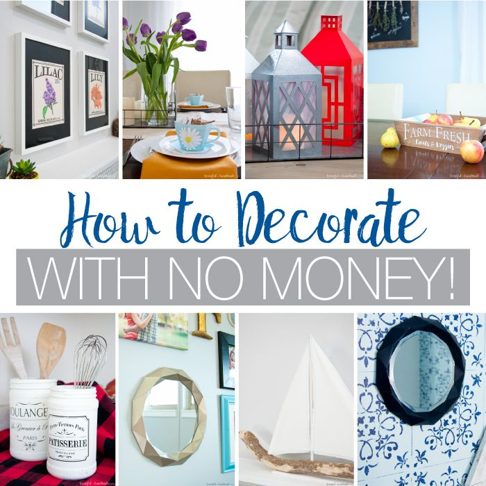 How To Decorate With No Money Trendy Home Decor Bedroom Wall